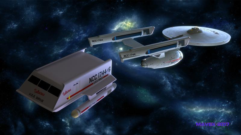 Shuttlecraft Takura