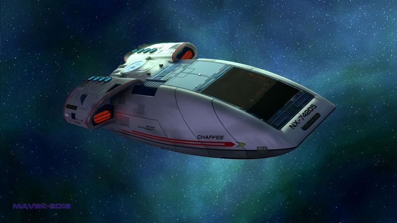 Shuttlecraft Chaffee