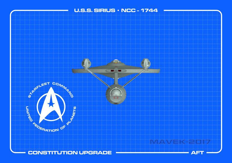U.S.S. Sirius Aft
