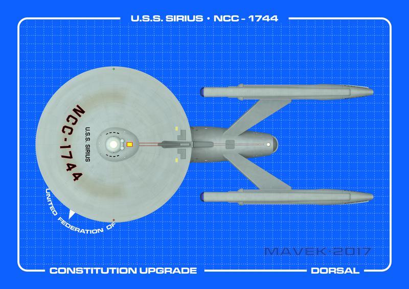 U.S.S. Sirius Dorsal