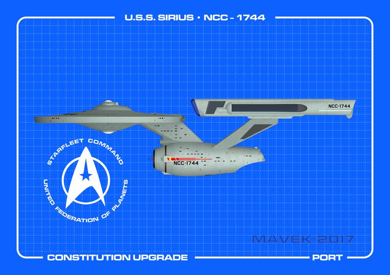 U.S.S. Sirius Port