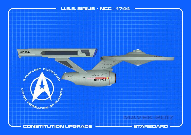 U.S.S. Sirius Starboard
