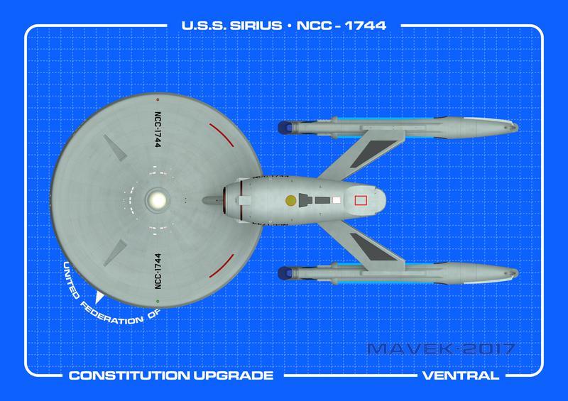 U.S.S. Sirius Ventral