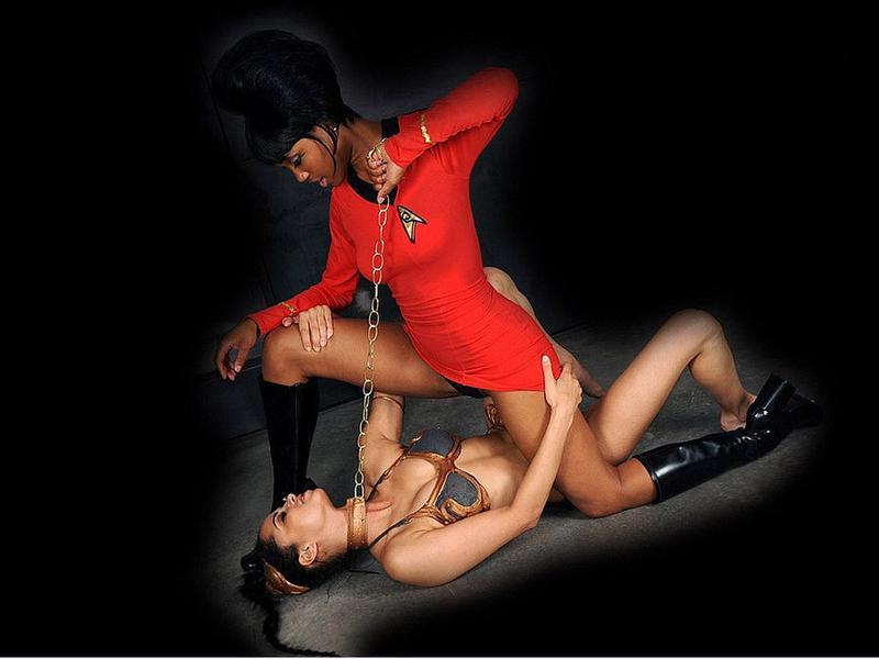 Uhura versus Slave Leia