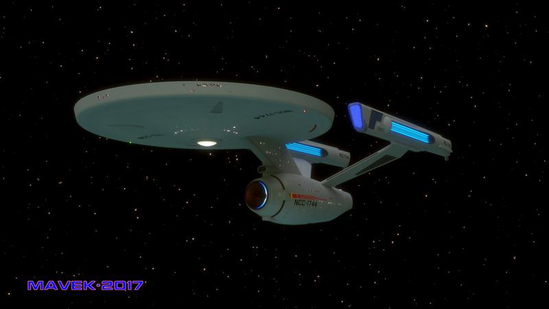 USS Sirius Beauty