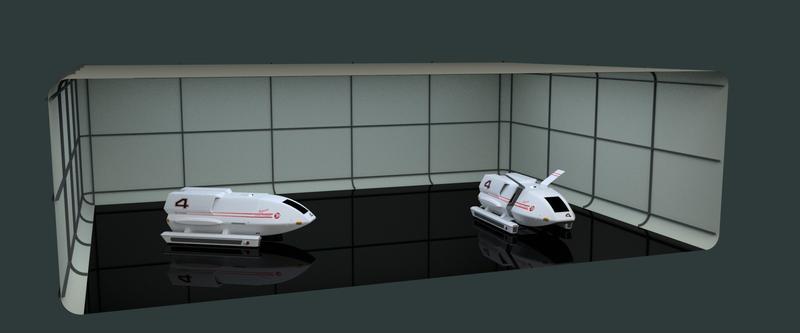 Constellation Class Shuttle Craft Bay 02